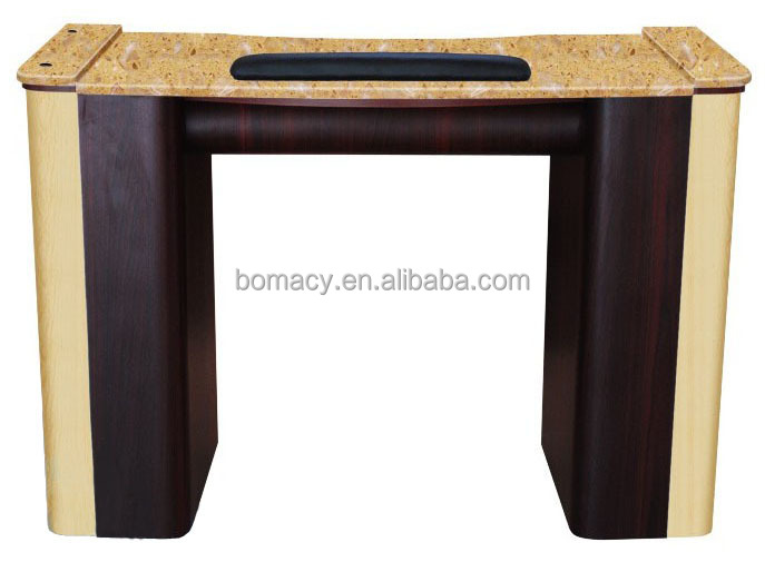 Hot sale marble top nail table with exhaust fan buy nail for Manicure table with exhaust fan