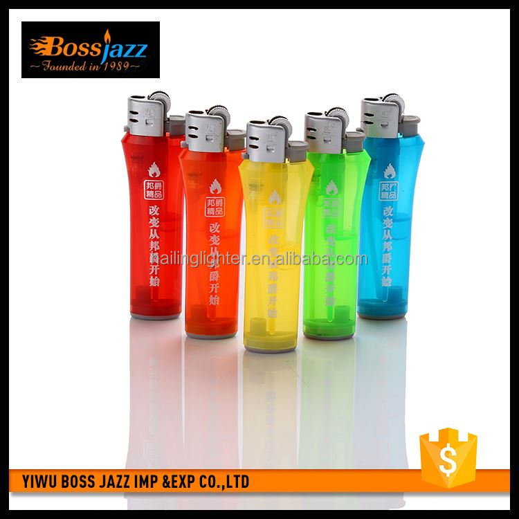 Latest product custom design plastic electronic clippers lighters