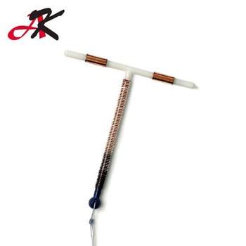 Dispositivo intrauterino t de cobre