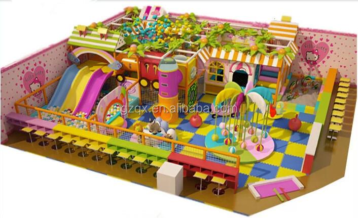 Big Scale Indoor Playhouses(QX 110E)/children Indoor Playhouse/childrens  Playground