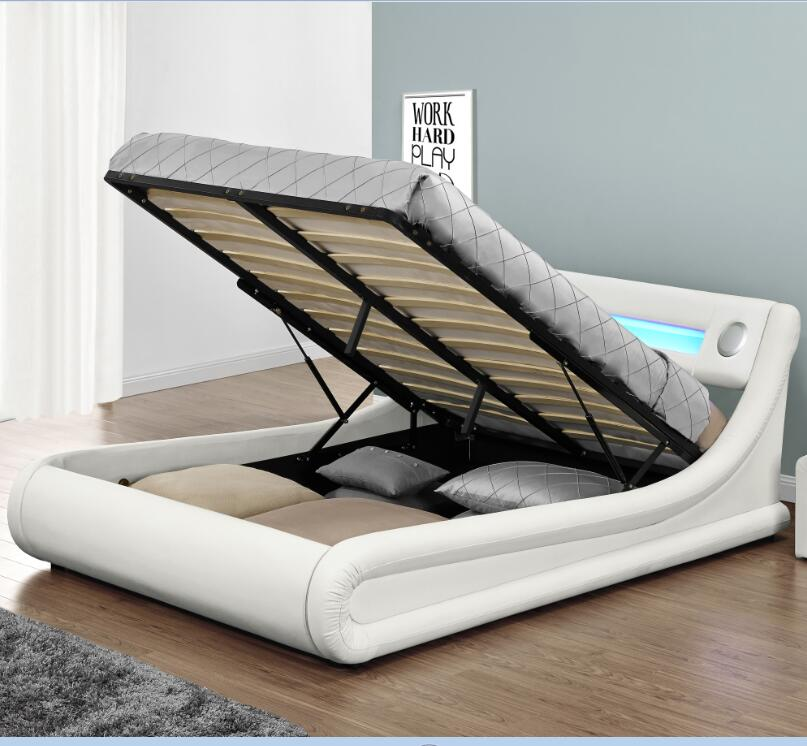 Upholstery Led Queen Bed Frame With Storage Buy Upholstery