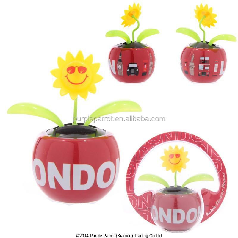 London Base Sunflower Solar Buddy/solar Toys/flip Flap