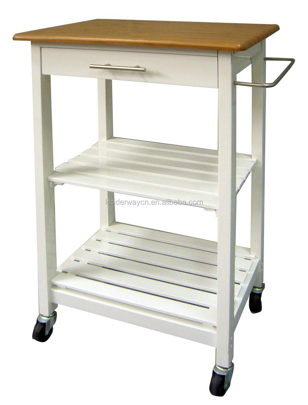 2015 goedkope houten keuken trolley met manden prijzen ...