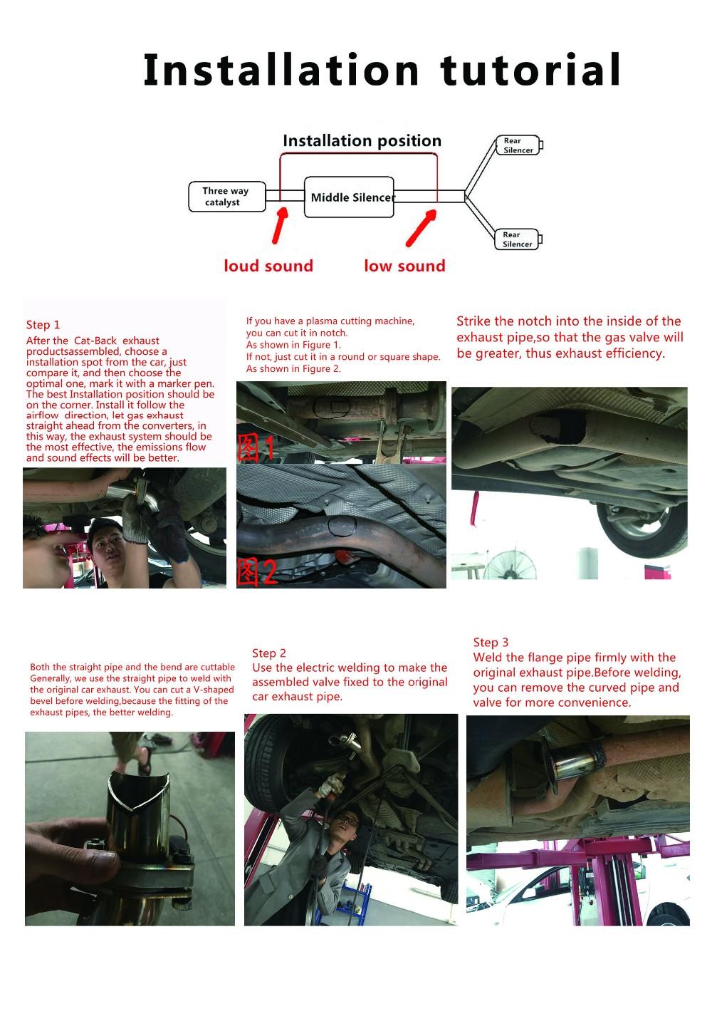 Exhaust Control Valve With Vacuum Actuator Cutout 3