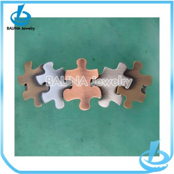 Fashion New Puzzle Design French Barrette Hair Clips