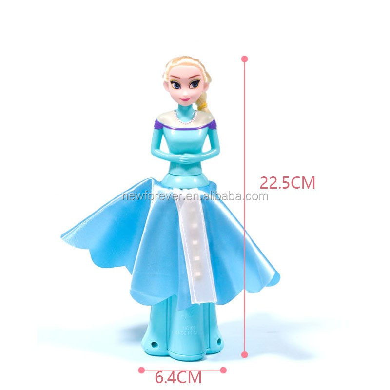 Sing Dancing Rotating Fairy Princess Musical Toy With