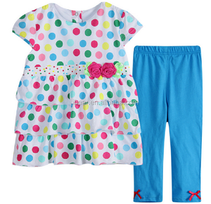 chinese clothing manufacturers Stylish Little Girls Clothing Sets