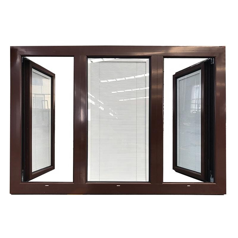 Washington 3 panel glass casement window 3 glass windows in low price