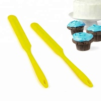 New Products Colorful Silicone Spatula Knife Of Baking Tools