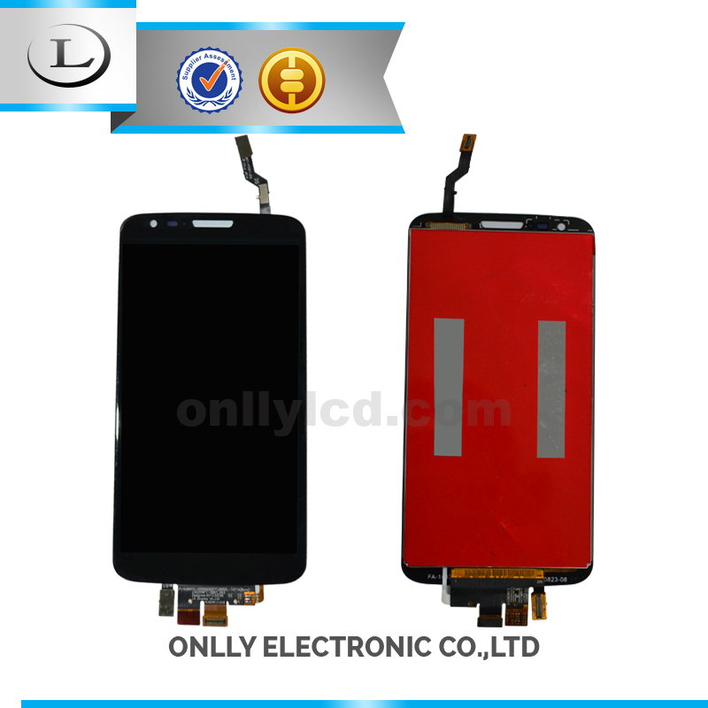 Wholesale mobile phone for LG g2 assembly display lcd