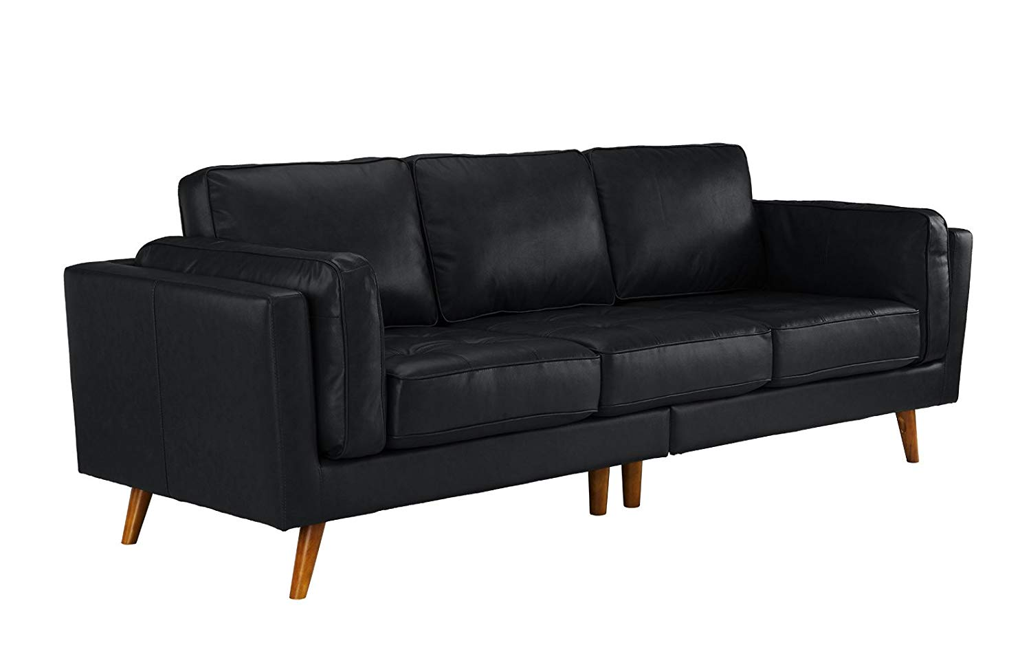 Cheap Black Leather Tufted Sofa, find Black Leather Tufted ...