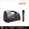 Mini Portable Wireless Microphone PA Amplifier Speaker LPA-101