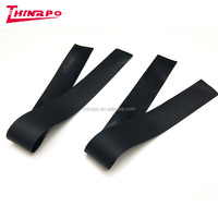 Custom conductive silicone rubber strip with 1000 ohms