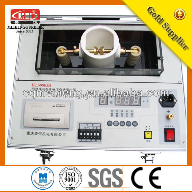HCJ High Efficient Transformer Oil tester for testing insulating water purification tablets