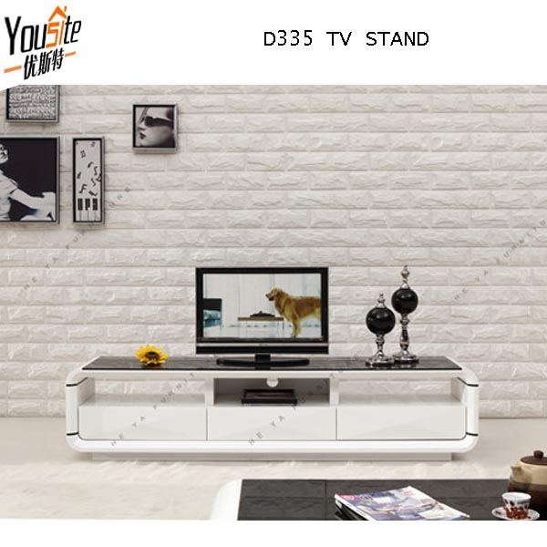 Small High Gloss Modern TV Unit ,glass Corner Lcd Tv Stand Design