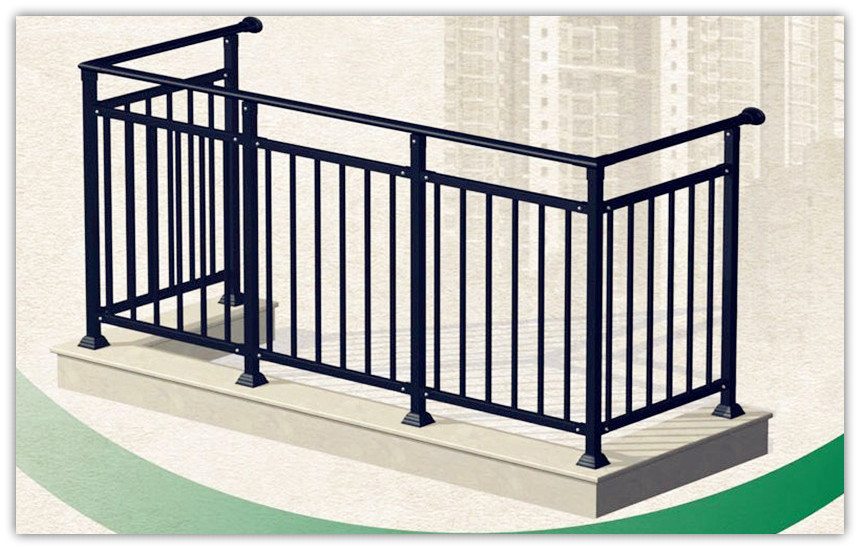 Used Wrought Iron Stair Railing Cheap Price Direct