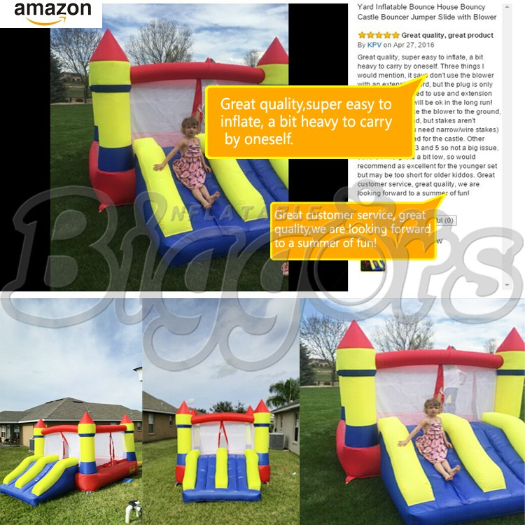 YARD Inflatable Bouncer Bounce House Castle with Ball Pit
