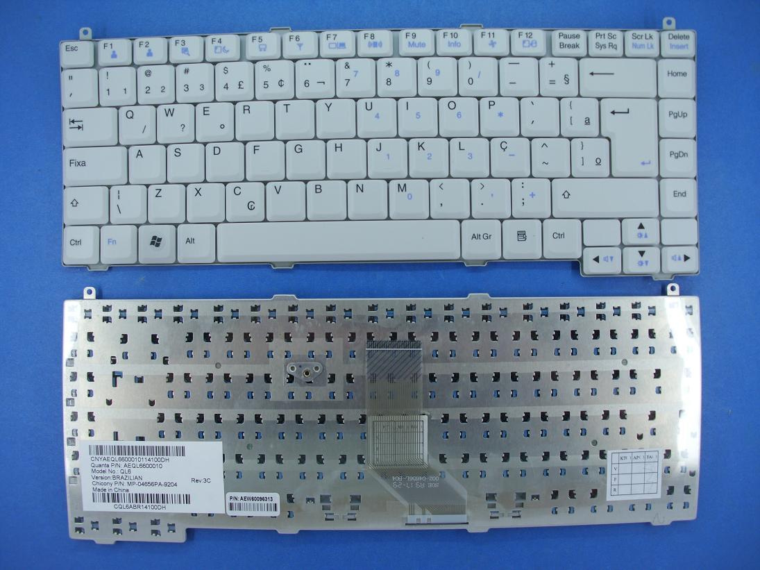 hot saling notebook keyboard for LG R480 BR