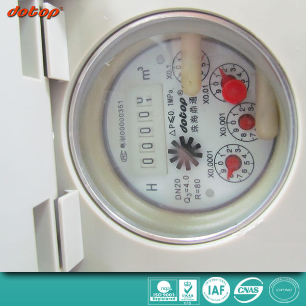 Hot selling Inline Digital Water Flow Meter GPM Chart for Water Meters made in China