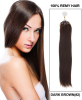 HIgh quality brazilian micro bead human hair extensions