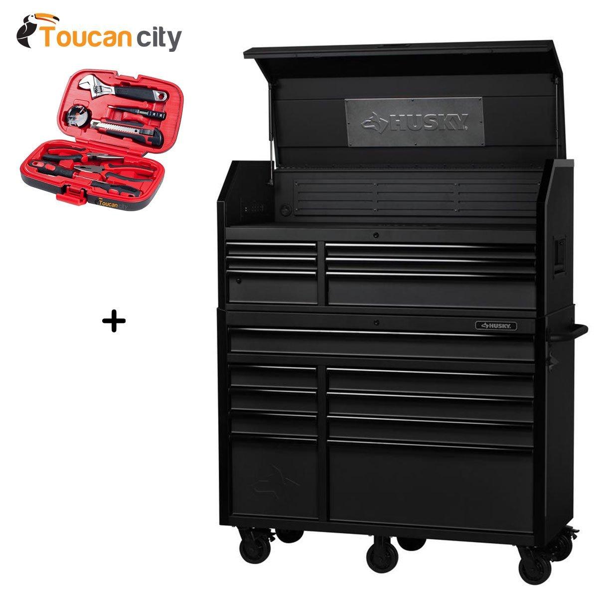 Husky 52 inch tool box 13 drawer airpro air freshener