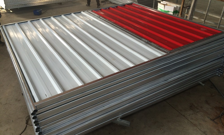 Corrugated Steel Fence Panel With Gate Buy Corrugated