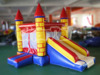 Inflatable small castle with slide , combo for indoor