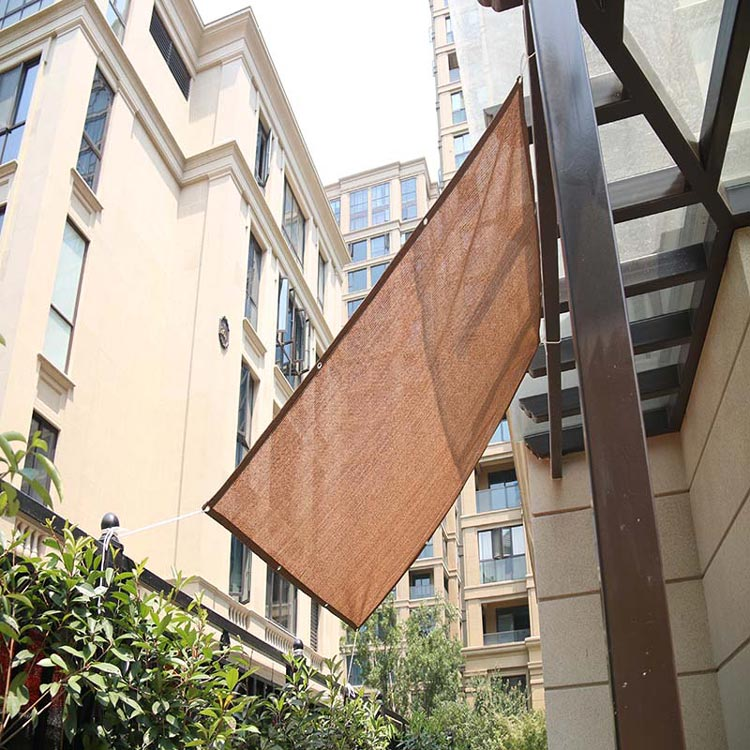 2019 Chinese Factory 180gsm HDPE Rectangular Outdoor Garden Hanging Window Sun Shade Net Blinds
