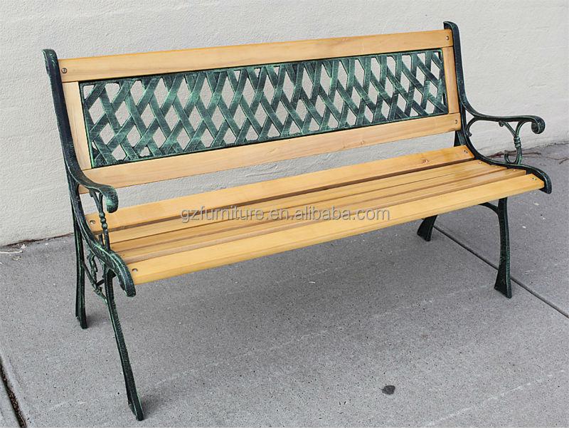 Fonte Et Bois,Meubles De Jardin Salon De Jardin Chaise Banc - Buy ...