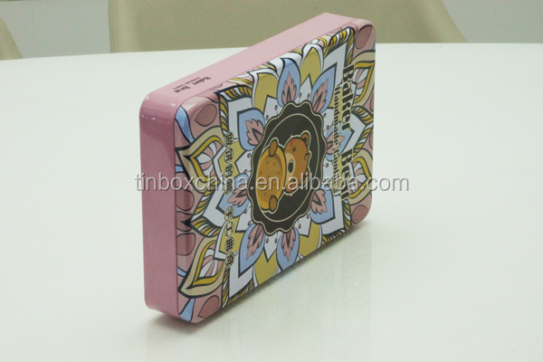 empty sweet cookie/lipstick tin can box with cheap price
