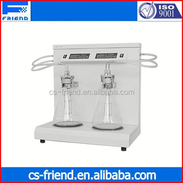 erythrocyte sedimentation rate analyzer ISO3735 Sediment Tester for Crude Oil and Fuel Oil for petroleum products