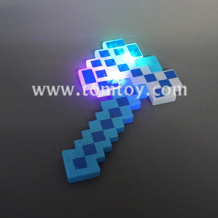 14.5 inches Plastic Toy LED Pixel Axe