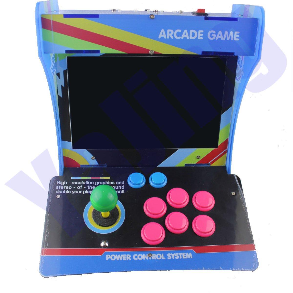 "Retro Mini Arcade Machine with 1388 Classic Video Games, One Player Pandora Box 5s Plus Plug and Play Mini Arcade Game Cabinet Machine with 10.4"" Screen"