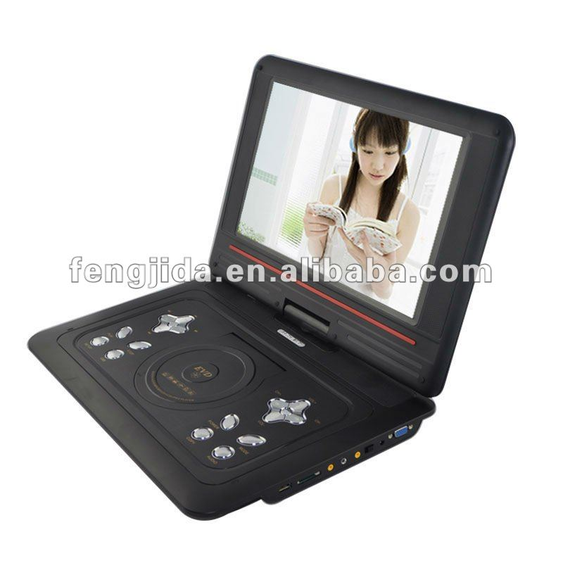 big screen portable dvd player with tv tuner/game