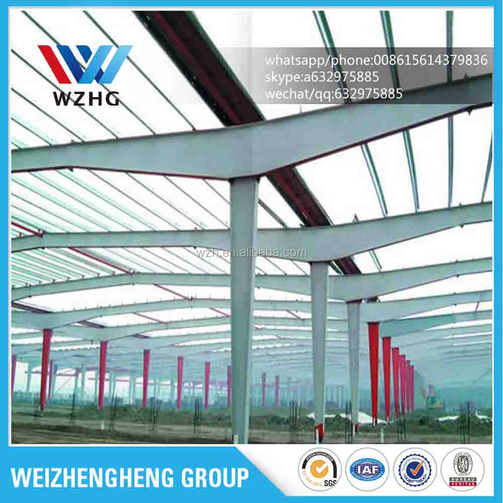High quality pre-engineered steel structure