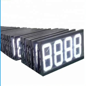 4 digit 7 segment square led display PCB connected FND display