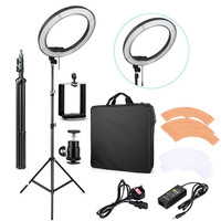 "18"" RL-18 Photography Video Studio 240 LED 5500K Dimmable Camera Photo Phone Ring Light"