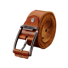 Boshiho new fashion men genuine leather belt