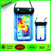 Hot Sale Smartphone Waterproof Dry Bag for All 4-5 inch screen phones for swimming diving
