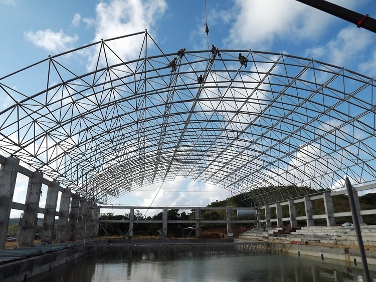 Long Span Steel Frame Structure Swimming Pool Roof Buy