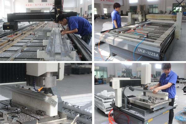 Custom Design Aluminium Fabrication With Cnc Machining By China ...