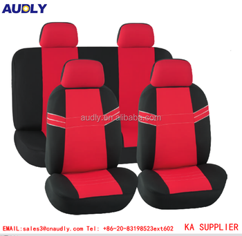 L C Payment Accept Smart Car Interior Accessories Ladies Red Seat Covers