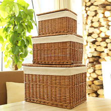 Kids toys Wicker storage basket / storage willow basket