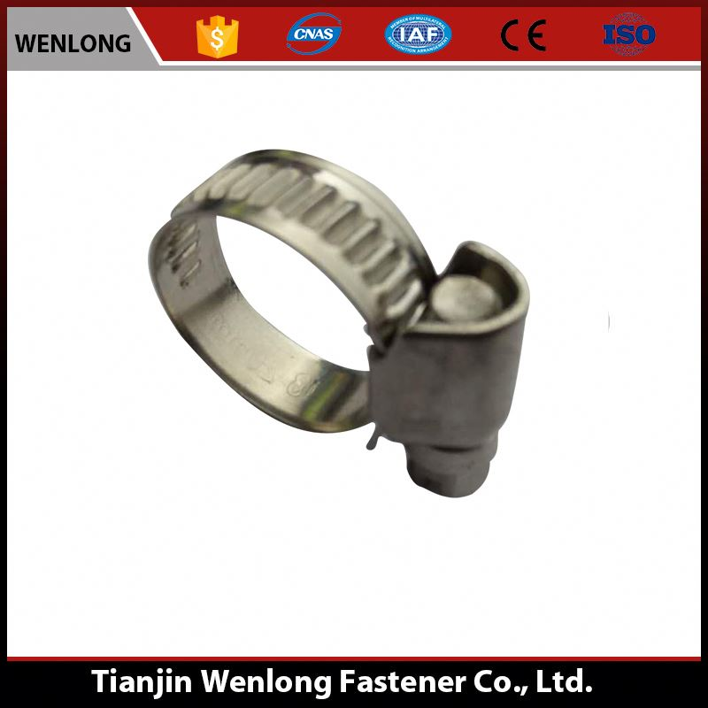40-60mm Square Shaped German Type w4 Worm Drive Hose Clamp
