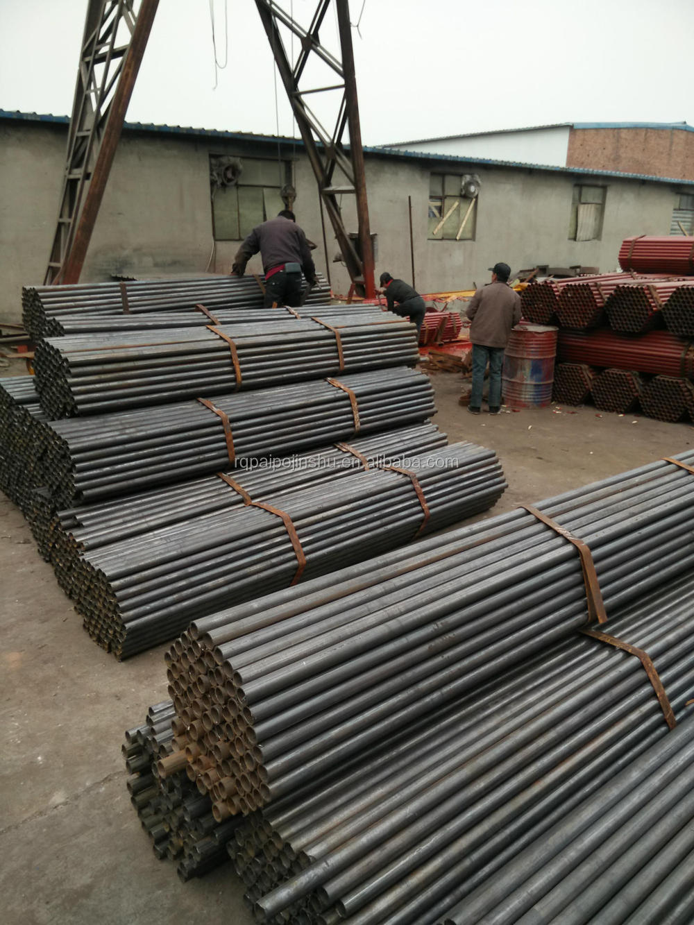 Non-ASTM A53 A500 BS1387 Grade B carbon steel pipe with galvanized or oil in the surface ,youfa, IN CHINA