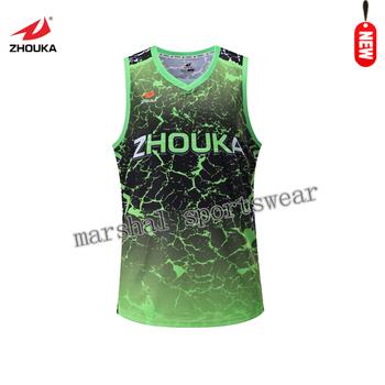 512847fcb7c5 Custom Club jersey basketball design 2017 Green Embroidered Good Quality reversible  basketball uniforms