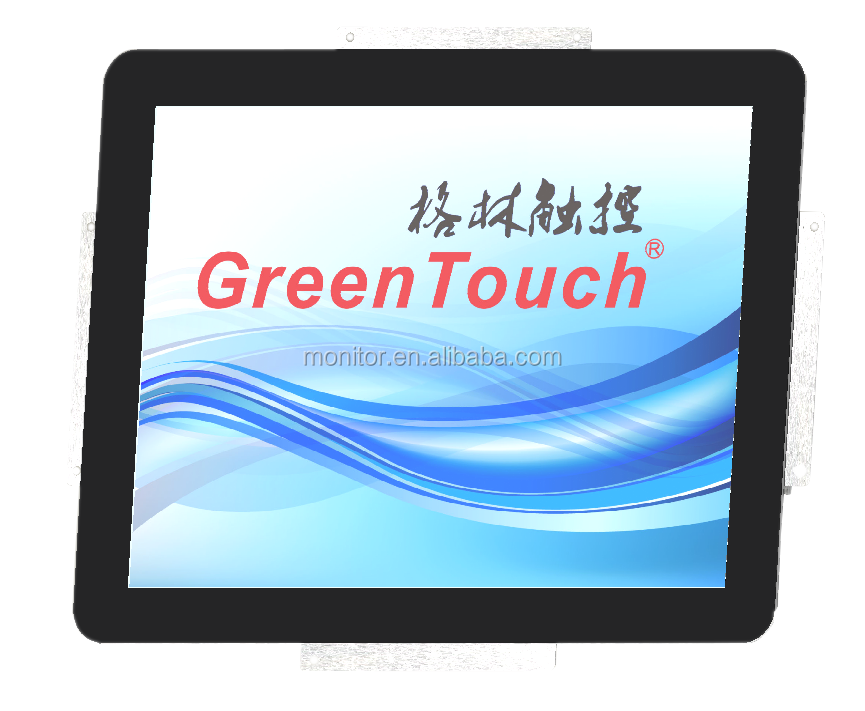 10 points USB Capacitive Touch Screen 19inch LED monitor for Industrial