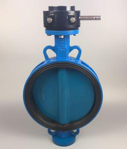 DOWSON 4 Inch Gear Operated Butterfly Valve For Industrial