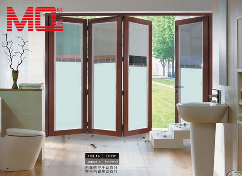 High Quality Exterior Doors Jefferson Door: High Quality Folding Entry Glass Doors With Blinds Inside