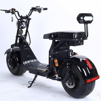 Hot Sale 2000w 60v Electric City Coco Fat Tire Big Wheel Harley